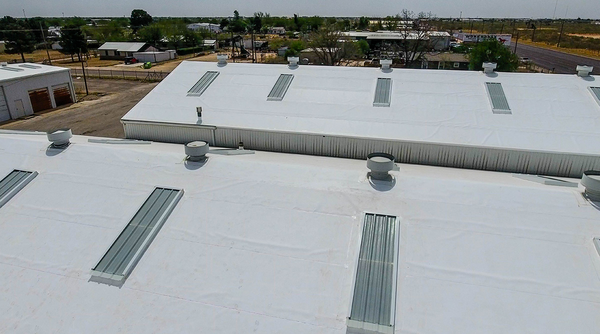 Flat Roof Tpo Installation And Repair Service In Texas